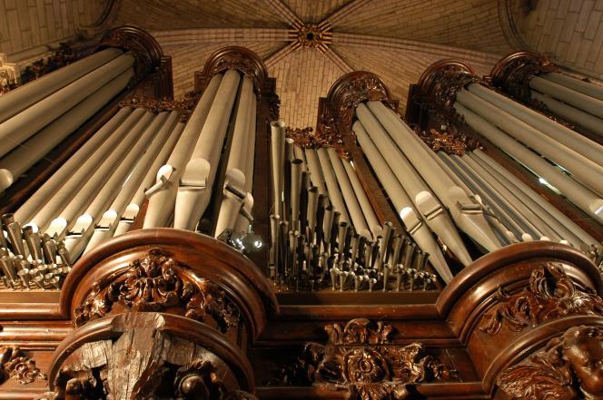 Le grand orgue de Notre-Dame de Paris, en 2004.