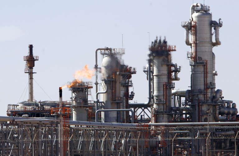Raffinerie de Krechba, près de Ghardaia, dans le centre de l'Algérie