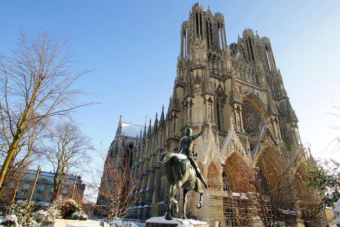 La cathédrale de Reims (Marne), le 9 décembre 2010.