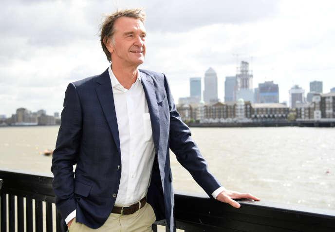 Jim Ratcliffe, le patron de l'entreprise pétrochimique britannique Ineos, à Londres, en avril 2018.