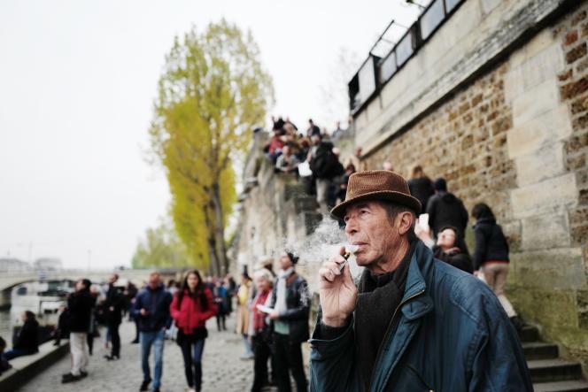 Henri Arnoux, 78 ans, a vécu et travaillé toute sa vie à Paris.