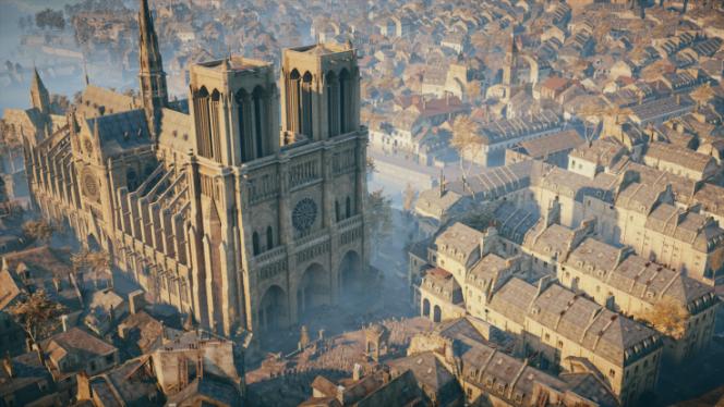 Pour beaucoup de personnes, notamment à l'étranger, la reconstitution de Paris par Ubisoft dans« Assassin's Creed Unity» a été le premier contact intime avec Notre-Dame.
