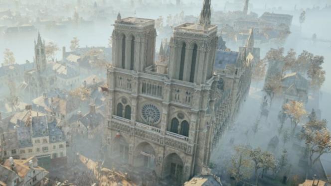 La reconstitution de Notre-Dame dans «Assassin's Creed Unity» est magnifique, mais elle n'entre pas dans le niveau de détail dont auront besoin les architectes.