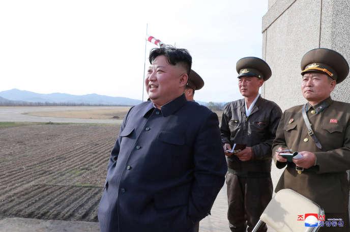 Le dirigeant nord-coréen Kim Jong-un a supervisé le test d'une arme« tactique», le 16 avril, selon l'agence de presse officielle du régime KCNA.