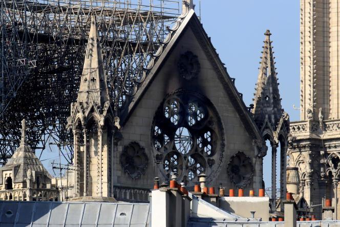 Notre-Dame de Paris, le 17 avril 2019.