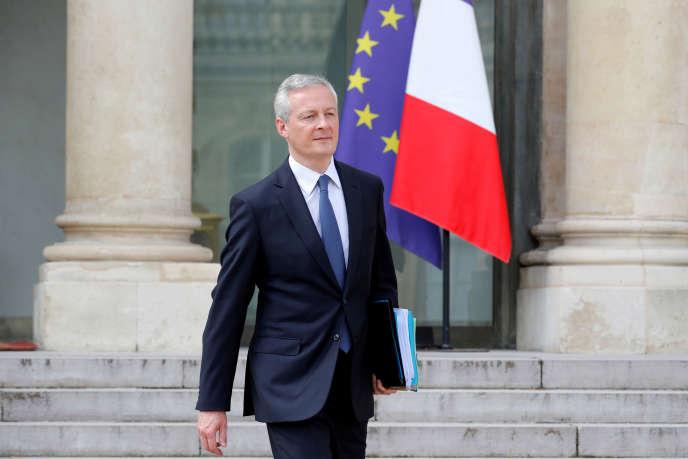 Bruno Le Maire, le 17 avril à l'Elysée.