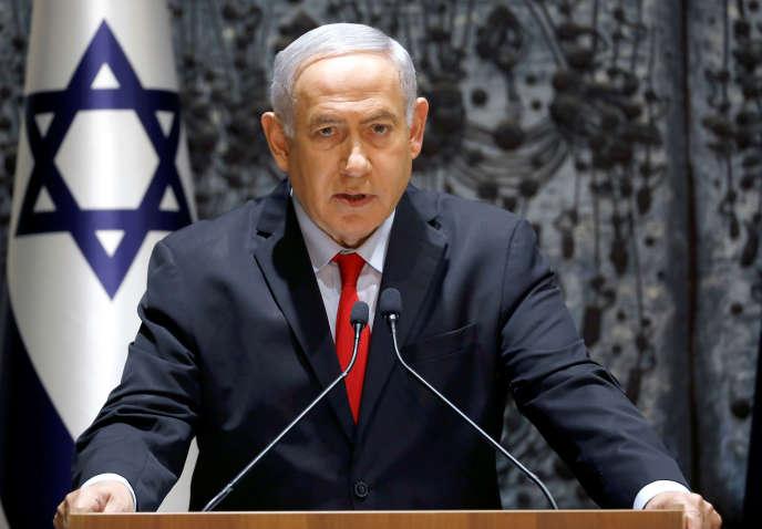 Benyamin Nétanyahou a été chargé de former le prochain gouvernement israélien, le 17 avril 2019.