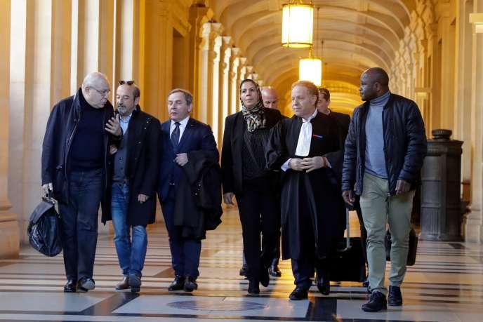 A l'ouverture du deuxième procès Merah, à la cour d'appel de Paris, le 25 mars.