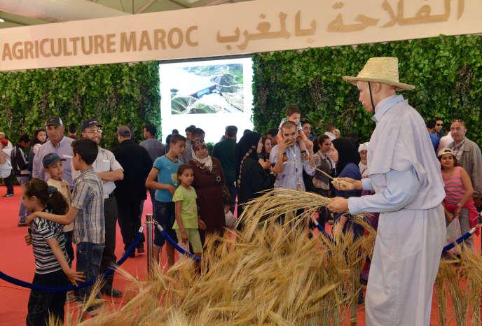 Salon international de l'agriculture au Maroc se déroule à Meknès.