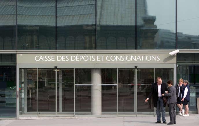 Le siège social de la Caisse des dépôts, à Paris. La CDC a annoncé, en mars, vouloir appliquer une rupture conventionnelle collective.