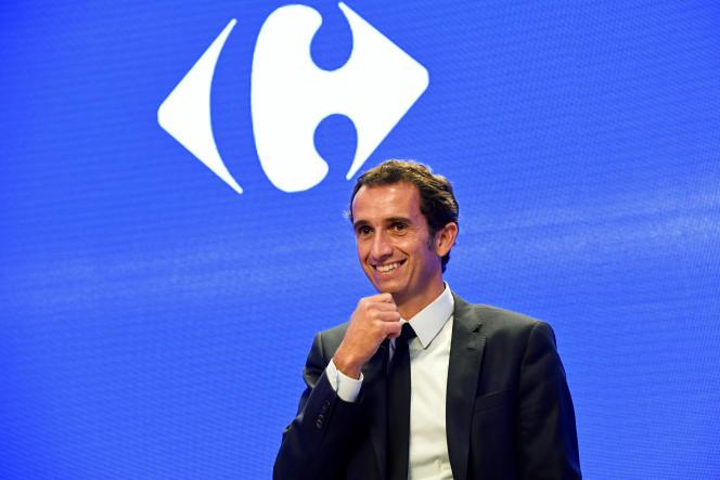 Alexandre Bompard, PDG de Carrfour, le 28 février 2019.