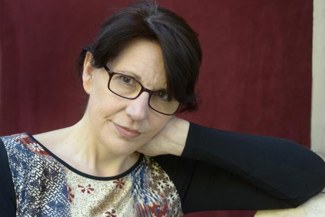 L'écrivaine catalane Imma Monso, en 2013, à Barcelone.