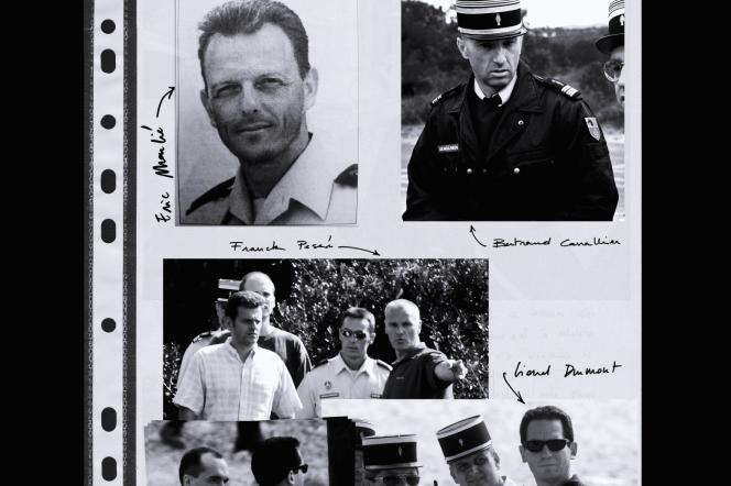 D'après des photos de gendarmerie, COR/AFP, Gérard Julien/AFP