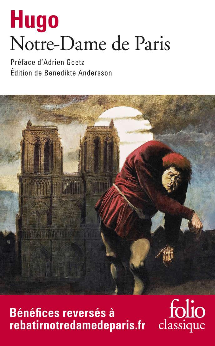 Folio, qui a prévu un nouveau tirage de 30000 exemplaires,s'est engagé à reverser au fonds de souscription lancé par le chef de l'Etat l'intégralité des bénéfices des ventes du poche de «Notre-Dame de Paris».