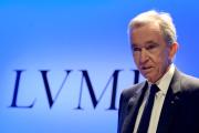 Le patron de LVMH, Bernard Arnault, à Paris, le 29 janvier.