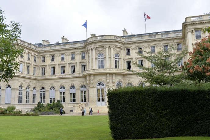 Le ministère des affaires étrangères, en 2014.