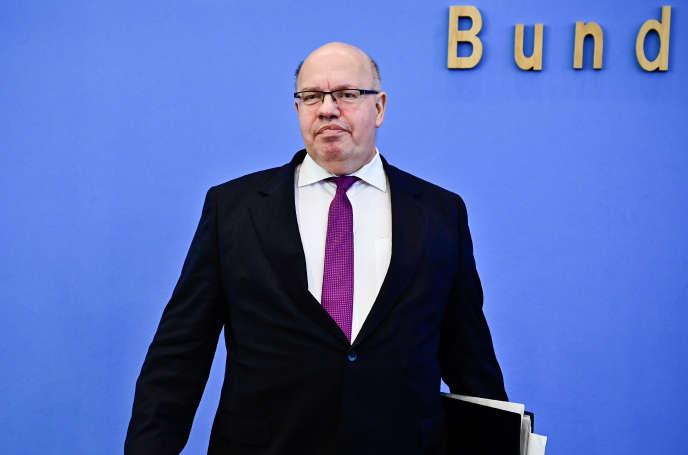 Le ministre de l'économie allemand, Peter Altmaier, mercredi 17 avril, à Berlin.
