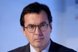 Jean-Pierre Farandou, qui succédera à Guillaume Pepy à la tête de la SNCF au 1erjanvier2020, ici à Paris, en novembre 2018.