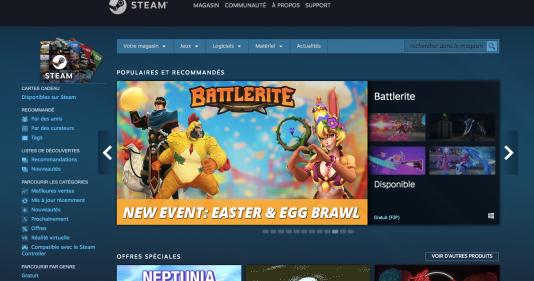 Steam a les défauts de ses qualités : un catalogue exhaustif et une immense communauté, mais un niveau de saturation extrême et une visibilité infime pour la plupart des jeux.