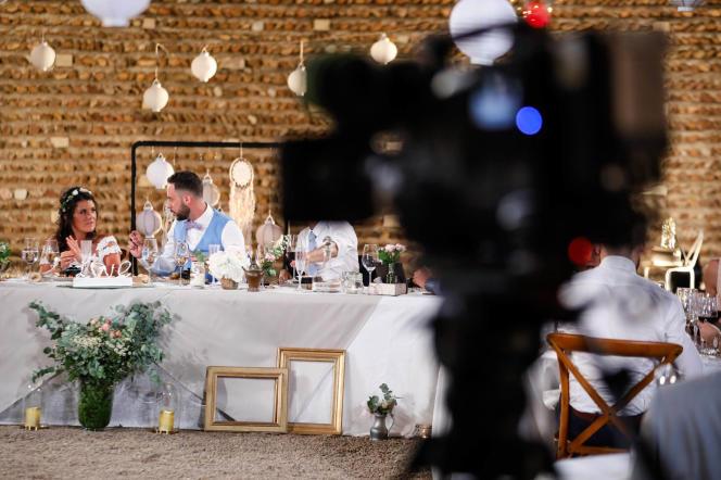 Sonia et Maximedans l'émission« Mariés au premier regard», sur M6.