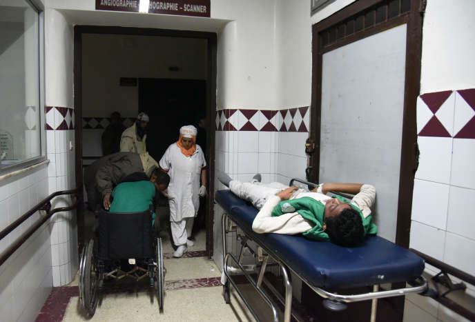 Dans un hôpital de Casablanca en mars 2016.