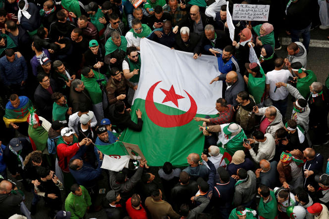 Manifestation à Alger, le 19 avril.