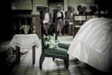 Cérémonie de mariage à l'église de Boissy-lès-Perche (Eure-et-Loir).
