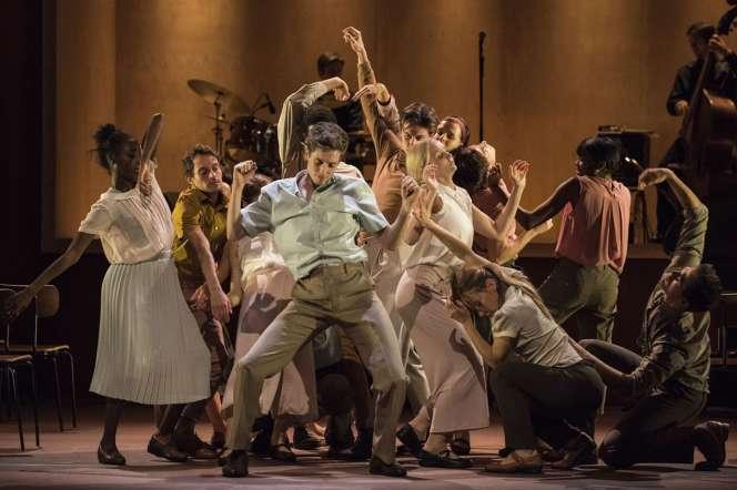 Le Ballet Rambert dans «Goat» de Ben Duke, au Théâtre des Abbessesjusqu'au 26avril.