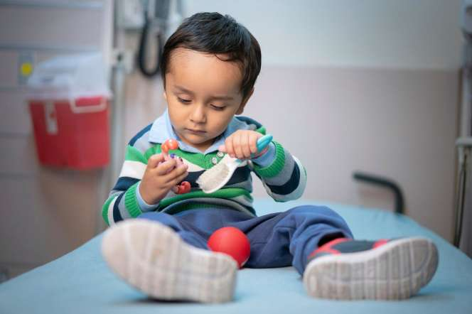 Gael Jesus Pino Alva est l'un des «bébés-bulles» qui ont été guéris par thérapie génique.
