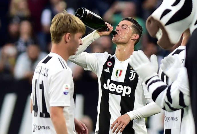 Cristiano Ronaldo, le 20 avril à Turin.