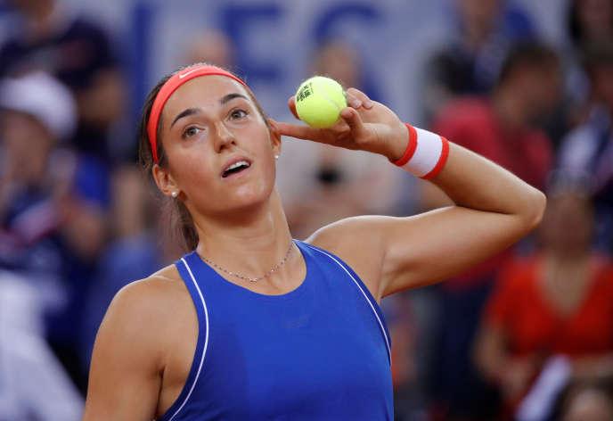 Caroline Garcia, le 20 avril à Rouen.