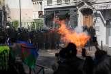 Acte XXIII des «gilets jaunes»: les images des manifestations tendues à Paris