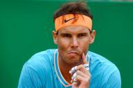 Rafael Nadal, perplexe, le 20 avril à Monte Carlo.