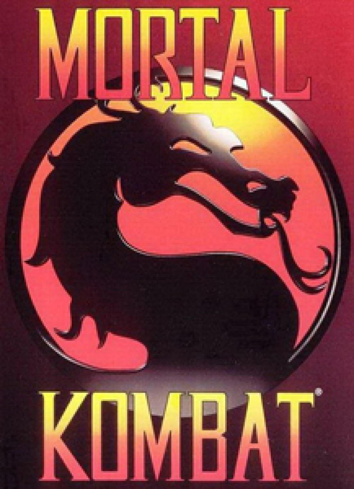 Le logo historique de« Mortal Kombat».