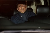 Carlos Ghosn quitte le bureau de son avocat, le 3 avril, à Tokyo.