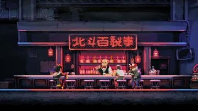 Sous ses airs de jeu d'action survolté, « Katana Zero» pousse son héros jusque dans ses retranchements – et le joueur avec.