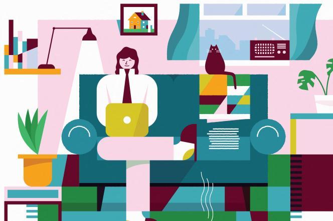 «En matière de travail à distance, c'est le travail à la maison qui prédomine. Dans l'étude Malakoff Médéric Humanis, 92 % des télétravailleurs interrogés exercent parfois ou régulièrement depuis leur domicile, 35 % dans un autre bureau mis à disposition par leur entreprise et 21 % dans un tiers lieu.»