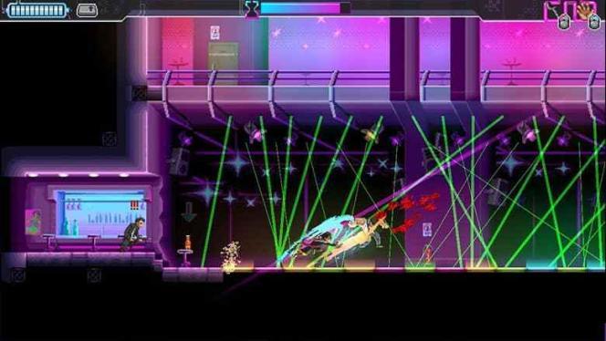 Esthétique néons et coups d'épée foudroyants :« Katana Zero» synthétise plusieurs années de jeux à l'esprit néo-eighties.