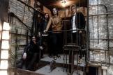 Le groupe The Raconteurs sera en concert à L'Olympia (Paris 9e), le 26 mai (détail de l'affiche).