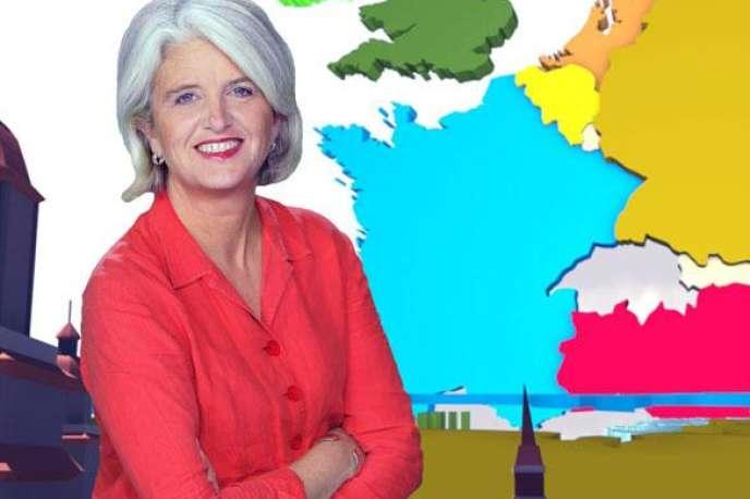 Le magazine« Avenue de l'Europe» est présenté parVéronique Auger.