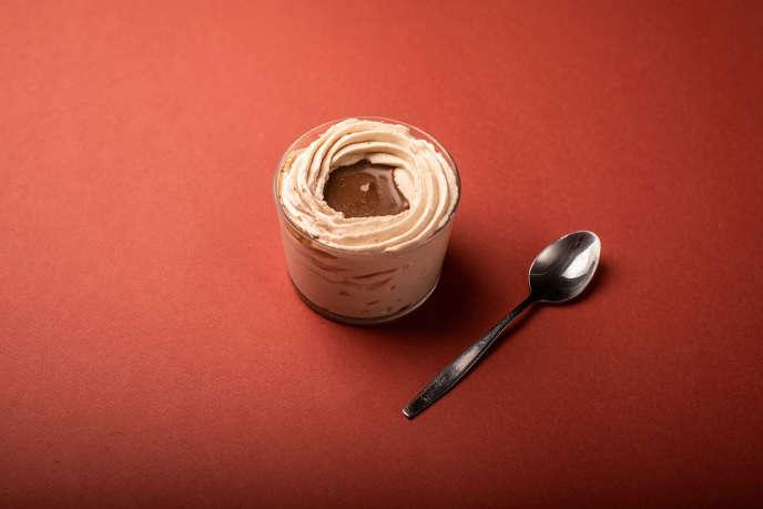 La crème pralinée de Stéphane Bonnat.