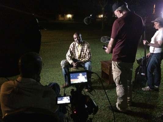 Un ancien soldat des Forces armées rwandaises (FAR), François Kamana, interviewé dans le documentaire deJean-Christophe Klotz.