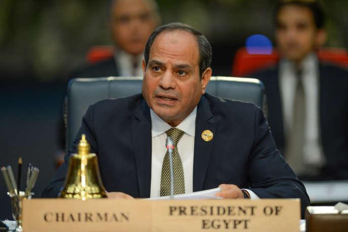Le président égyptien Abdel Fattah Al-Sissi, à Charm El-Cheikh, le 24 février 2019.