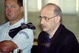 Jean-Claude Romand, à la cour d'assises de l'Ain, le 25 juin 1996.