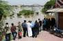 Vingt-cinq des 31 provinces que compte l'Iran ont été touchées par les inondations. Plus de 500 000 personnes ont été déplacées et deux millions d'Iraniens ont besoin d'aide humanitaire. Ici, le 11 avril dans la province du Khuzestan.