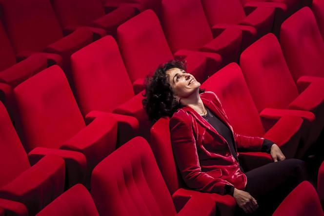 Elisabeth Bouchaud, en 2014.
