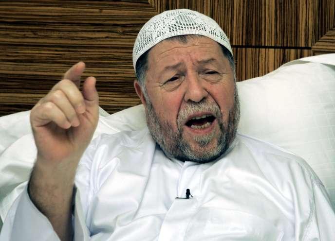 Abassi Madani, à Doha, Qatar, en septembre 2004.