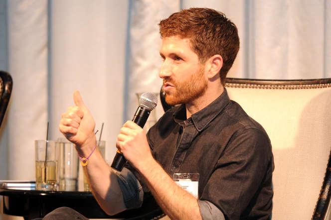 Le fondateur du Center for Humane Technology, Tristan Harris, à Los Angeles (Californie), en octobre 2018.
