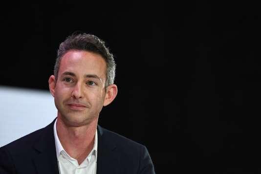 Ian Brossat, le 11 avril, lors du débat politique organisé par la Fédération nationale de la mutualité française.