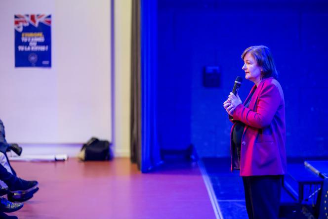 Nathalie Loiseau, tête de liste LRM pour les élections européennes.
